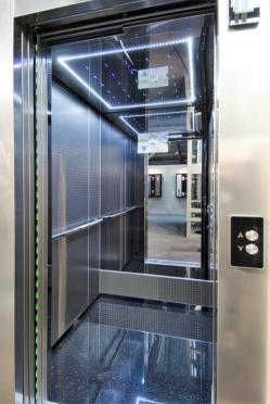 Habillage d'ascenseur design