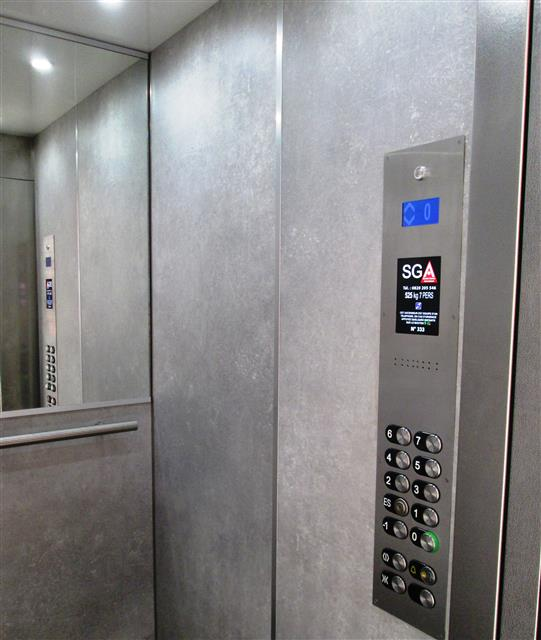 Mise en conformite ascenseur sga